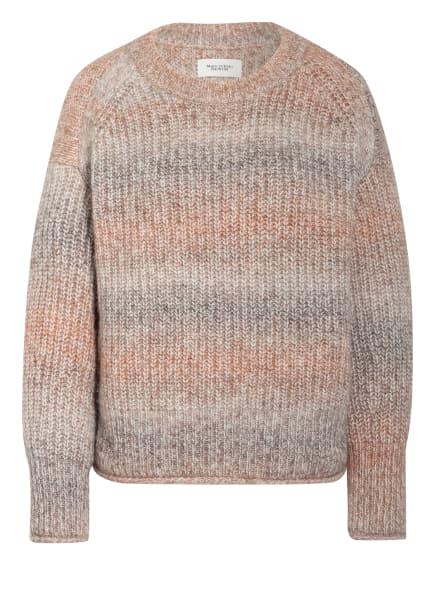 Marc O'Polo DENIM Pullover, Farbe: BEIGE/ GRAU/ ORANGE (Bild 1)