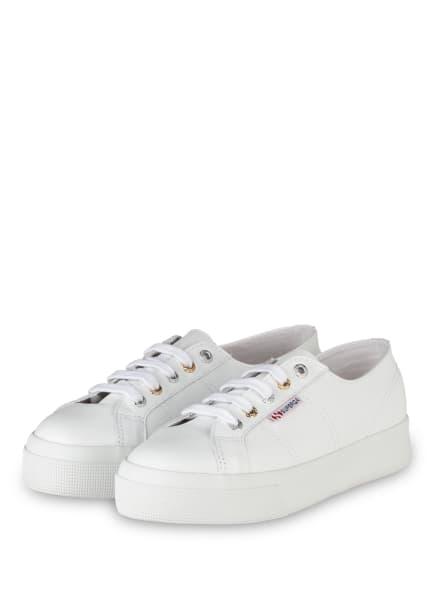 SUPERGA Sneaker 2730 COTU, Farbe: WEISS (Bild 1)