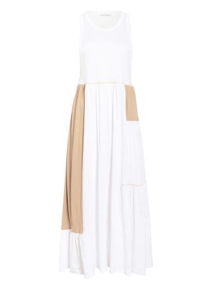 NINETY PERCENT Kleid, Farbe: WEISS/ BEIGE (Bild 1)