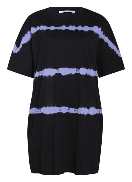NINETY PERCENT Oversized-Kleid , Farbe: SCHWARZ/ LILA (Bild 1)