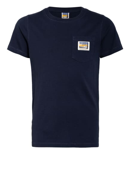 SCOTCH SHRUNK T-Shirt, Farbe: DUNKELBLAU (Bild 1)
