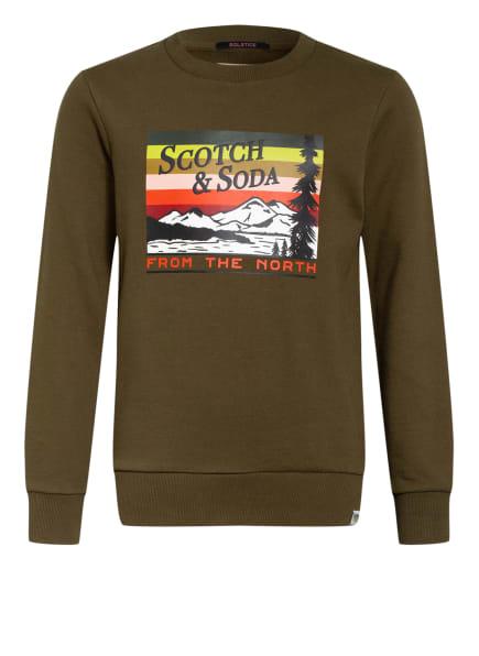 SCOTCH SHRUNK Sweatshirt , Farbe: KHAKI (Bild 1)