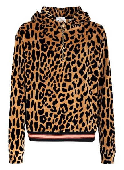 SCOTCH R'BELLE Oversized-Hoodie, Farbe: COGNAC/ SCHWARZ (Bild 1)