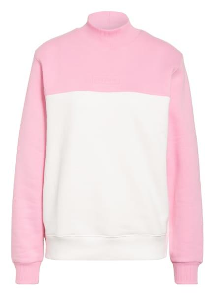 LACOSTE L!VE Sweatshirt, Farbe: WEISS/ ROSA (Bild 1)