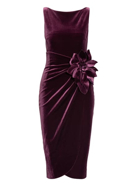 CHIARA BONI La Petite Robe Samtkleid GLENALY, Farbe: DUNKELLILA (Bild 1)