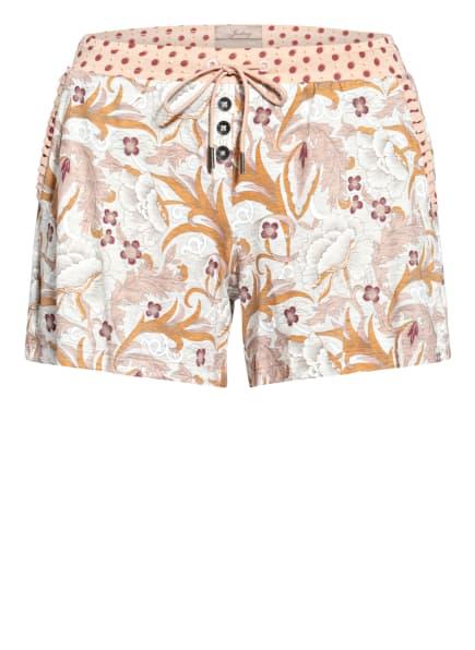 JOCKEY Lounge-Shorts, Farbe: HELLORANGE/ ORANGE/ HELLGRAU (Bild 1)