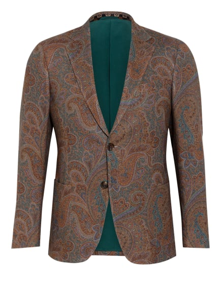ETRO Sakko aus Cashmere Extra Slim Fit, Farbe: BRAUN/ DUNKELGRÜN/ LILA (Bild 1)