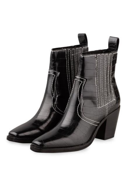 STEVE MADDEN Cowboy Boots GENIVA, Farbe: SCHWARZ (Bild 1)