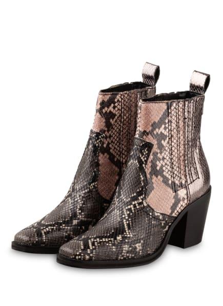 STEVE MADDEN Cowboy Boots GENIVA, Farbe: GRAU/ SCHWARZ/ BEIGE (Bild 1)
