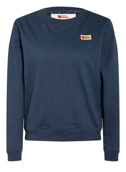 FJÄLLRÄVEN Sweatshirt VARDAG, Farbe: DUNKELBLAU (Bild 1)