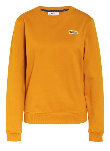 FJÄLLRÄVEN Sweatshirt VARDAG, Farbe: DUNKELGELB (Bild 1)