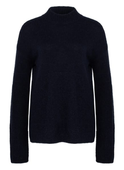 BOSS Pullover FIKALLA mit Alpaka, Farbe: DUNKELBLAU (Bild 1)