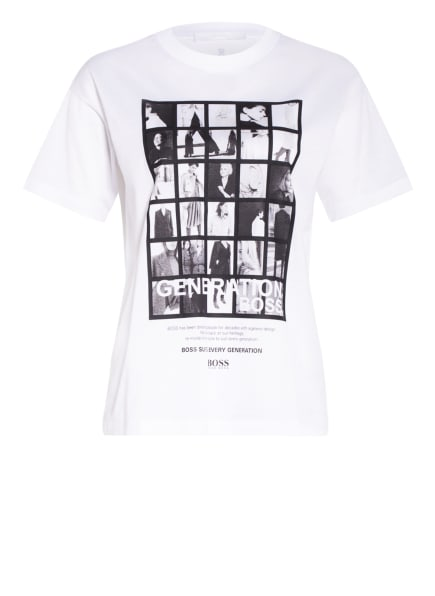BOSS Oversized-Shirt EVICA , Farbe: WEISS (Bild 1)