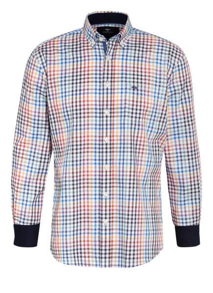 FYNCH-HATTON Hemd Casual Fit, Farbe: SCHWARZ/ ROT/ BLAU (Bild 1)