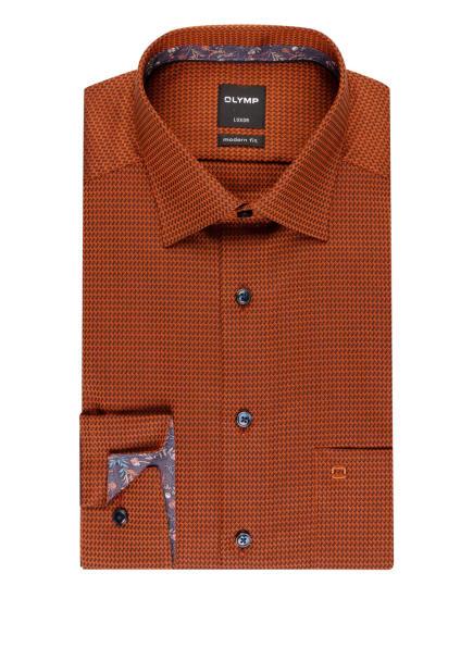OLYMP Hemd Luxor modern fit, Farbe: COGNAC/ BRAUN (Bild 1)