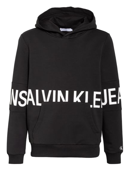 Calvin Klein Hoodie , Farbe: SCHWARZ/ WEISS (Bild 1)