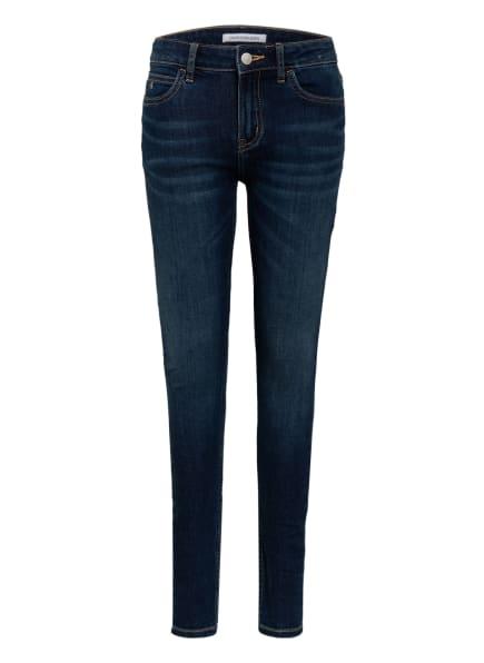 Calvin Klein Jeans Super Skinny Fit, Farbe: 1BK dark blue strech (Bild 1)