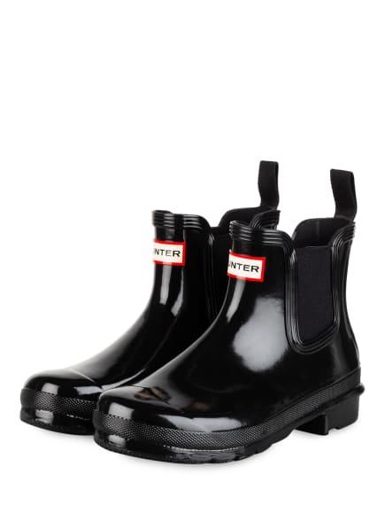 HUNTER Chelsea-Boots, Farbe: SCHWARZ (Bild 1)