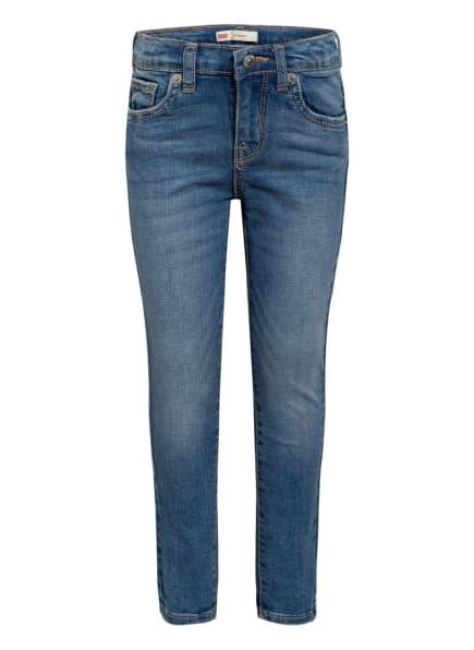 Levi's® Skinny Jeans 711, Farbe: F57 INDIGO RAYS (Bild 1)