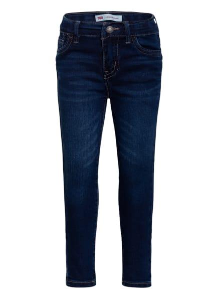 Levi's® Jeans 710 Super Skinny, Farbe: DUNKELBLAU (Bild 1)