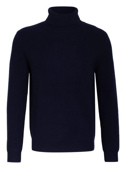 CHAS Rollkragenpullover mit Cashmere , Farbe: DUNKELBLAU (Bild 1)