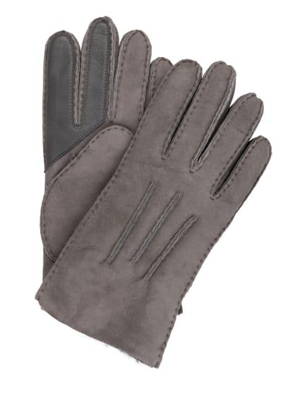 UGG Lederhandschuhe, Farbe: GRAU (Bild 1)