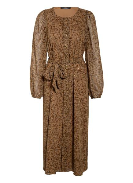LUISA CERANO Kleid, Farbe: KHAKI/ SCHWARZ/ GOLD (Bild 1)