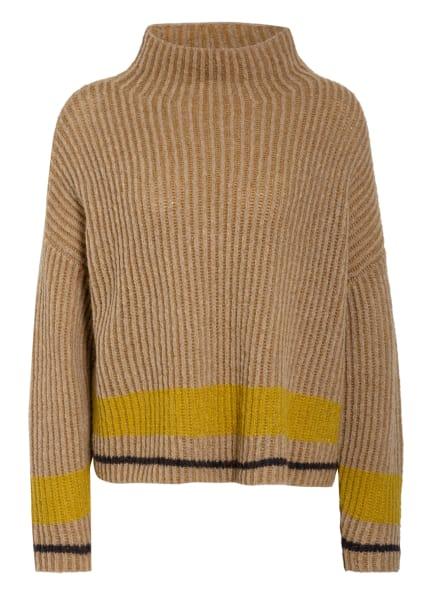 LUISA CERANO Pullover, Farbe: BRAUN/ GELB/ SCHWARZ (Bild 1)