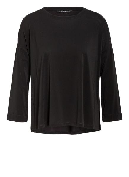 LUISA CERANO Blusenshirt mit 3/4-Arm, Farbe: SCHWARZ (Bild 1)