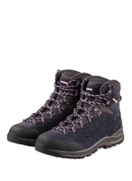 LOWA Outdoor-Schuhe EXPLORER GTX MID, Farbe: DUNKELBLAU/ DUNKELGRAU (Bild 1)