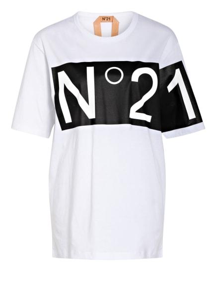 N°21 Oversized-Shirt, Farbe: WEISS (Bild 1)