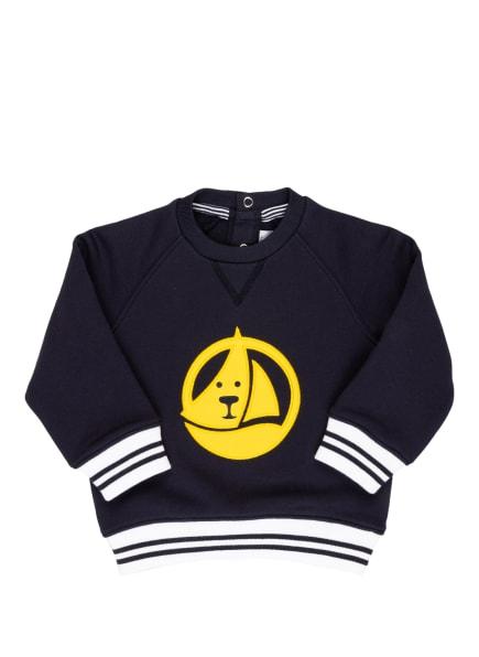 PETIT BATEAU Sweatshirt, Farbe: DUNKELBLAU/ GELB (Bild 1)