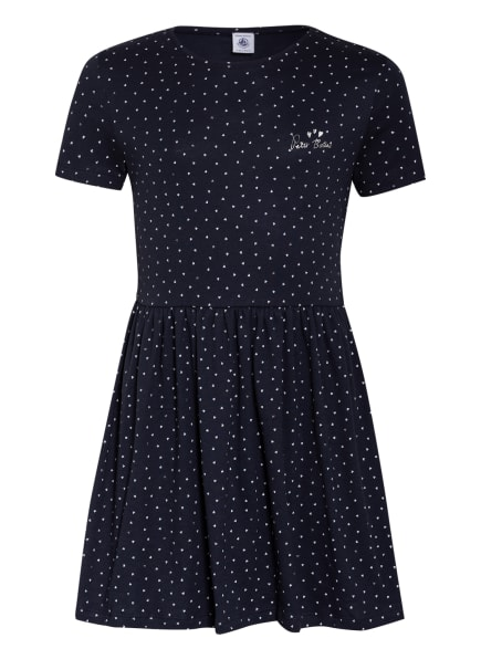 PETIT BATEAU Kleid, Farbe: DUNKELBLAU/ SILBER (Bild 1)