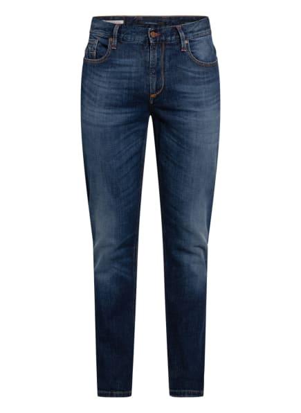 ALBERTO Jeans SLIPE Tapered Fit, Farbe: 890 BLUE (Bild 1)