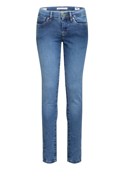 Pepe Jeans Skinny Jeans PIXELETTE , Farbe: BLAU (Bild 1)
