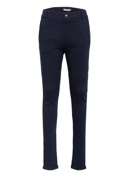 name it Piqué-Hose Regular Fit, Farbe: DUNKELBLAU (Bild 1)