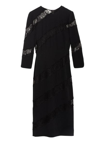 DOLCE&GABBANA Kleid mit Spitzenbesatz, Farbe: SCHWARZ (Bild 1)