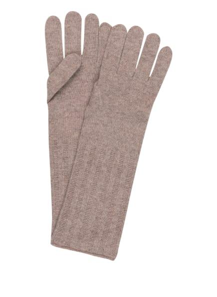 darling harbour Handschuhe aus Cashmere, Farbe: BEIGE MELIERT (Bild 1)
