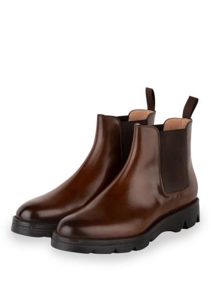 Santoni Chelsea-Boots, Farbe: COGNAC (Bild 1)