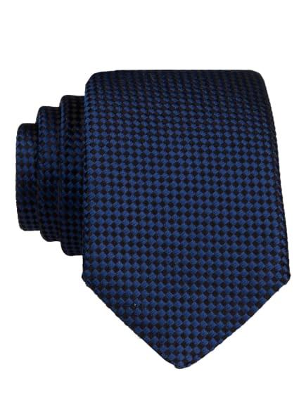BOSS Krawatte, Farbe: BLAU/ SCHWARZ (Bild 1)