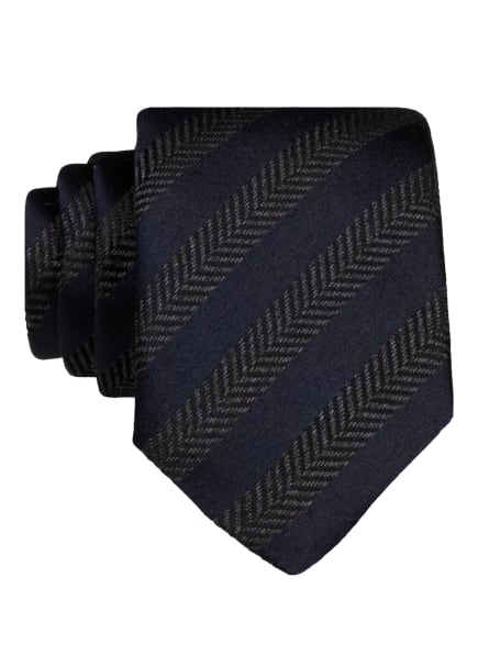 BOSS Krawatte, Farbe: BLAU/ SCHWARZ/ GRAU (Bild 1)