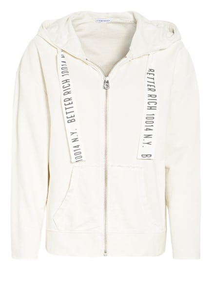 BETTER RICH Oversized-Sweatjacke , Farbe: CREME (Bild 1)