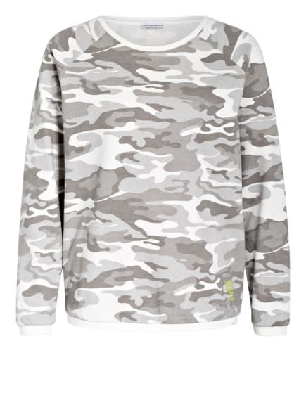 BETTER RICH Oversized-Sweatshirt, Farbe: GRAU/ WEISS (Bild 1)