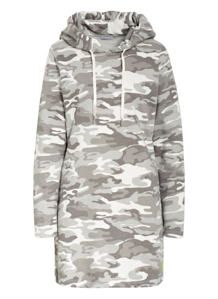 BETTER RICH Hoodie-Kleid , Farbe: GRAU/ WEISS (Bild 1)