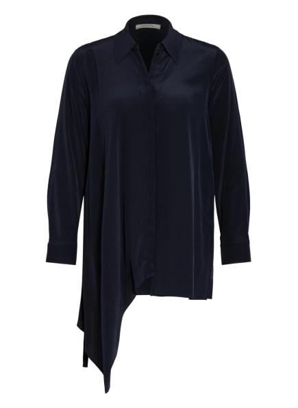 DOROTHEE SCHUMACHER Hemdbluse aus Seide, Farbe: DUNKELBLAU (Bild 1)