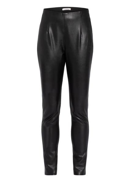 DOROTHEE SCHUMACHER Hose in Lederoptik , Farbe: SCHWARZ (Bild 1)