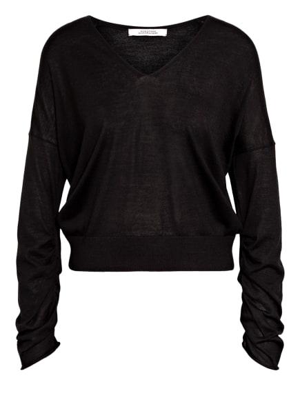 DOROTHEE SCHUMACHER Pullover aus Merinowolle, Farbe: SCHWARZ (Bild 1)