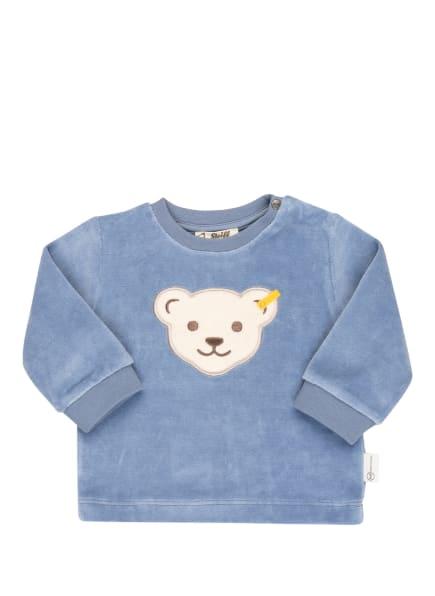 Steiff Sweatshirt in Nicki-Qualität, Farbe: HELLBLAU (Bild 1)