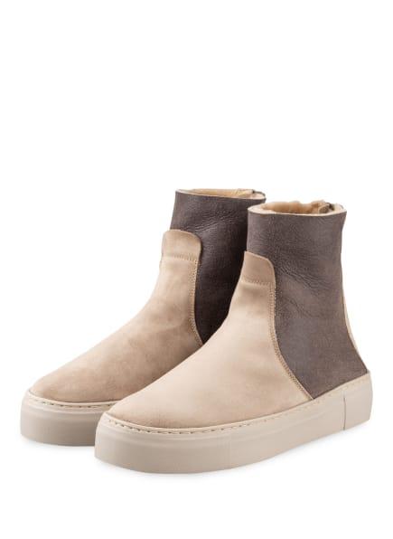 AGL ATTILIO GIUSTI LEOMBRUNI Plateau-Boots, Farbe: BEIGE/ HELLGRAU (Bild 1)
