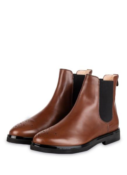 AGL ATTILIO GIUSTI LEOMBRUNI Chelsea-Boots, Farbe: BRAUN (Bild 1)